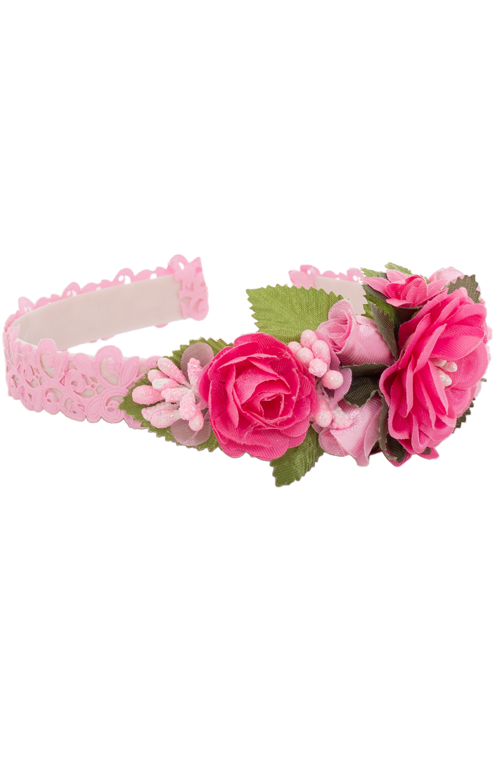 Haarreifen für Kinder TASSIA 1018 pink von Fielana