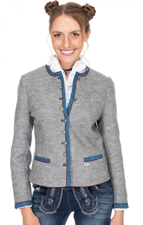 Traditional Jackets MANDEL light gray blue