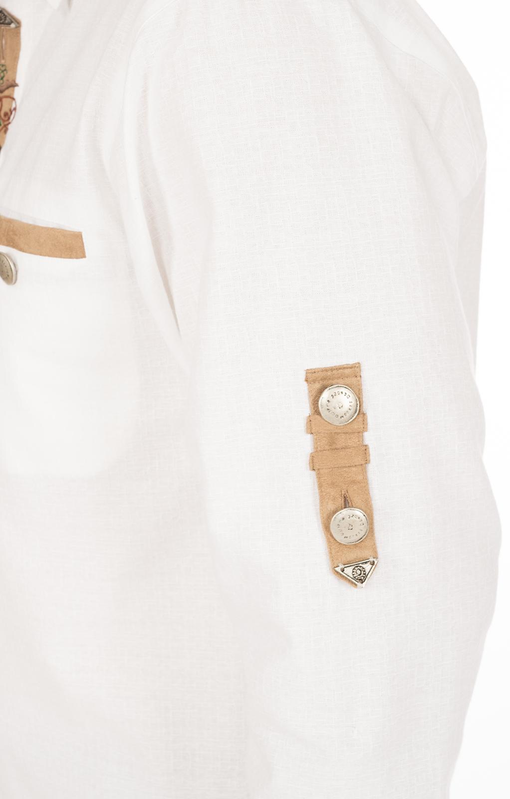 weitere Bilder von Camicia per Trachten EDGAR bianco