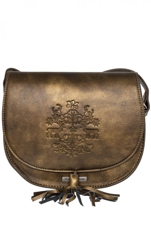 Trachtentasche 13102 antik braun