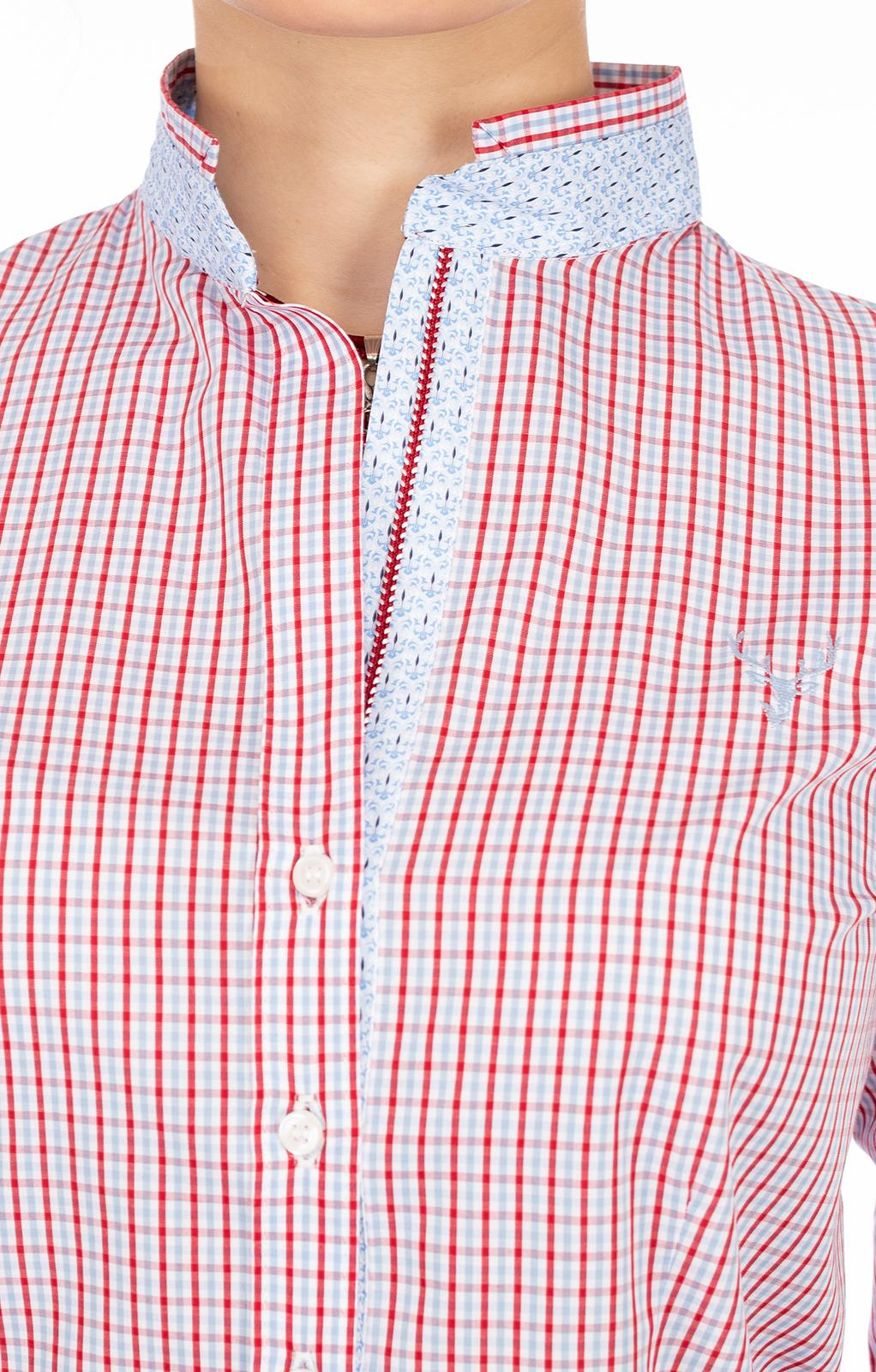 weitere Bilder von Bluse ERIKA rot blau
