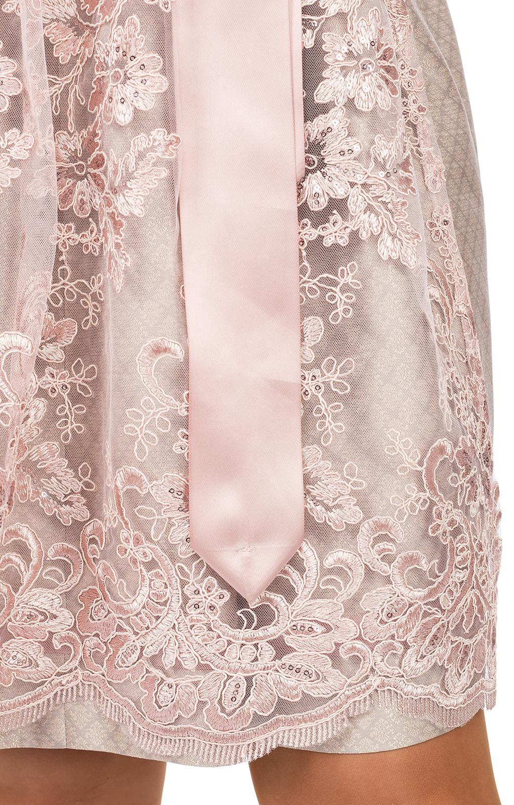 weitere Bilder von Mini Dirndl 2tlg. 58 cm MANANDA champagner rose