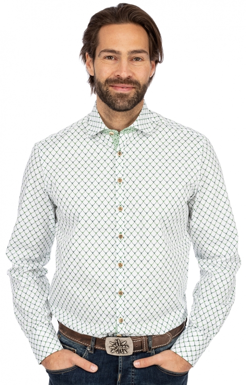 Langarmhemd SF 420000-3971-57 gruen