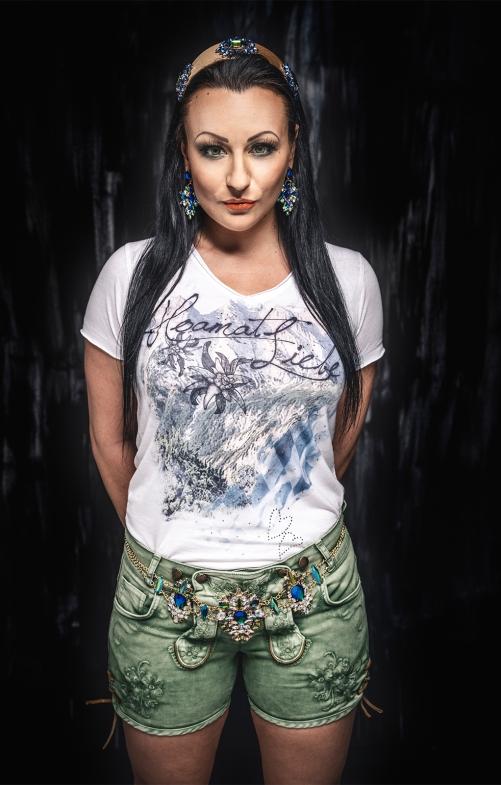 Tracht T-Shirt SIEGRID bavaria offwhite