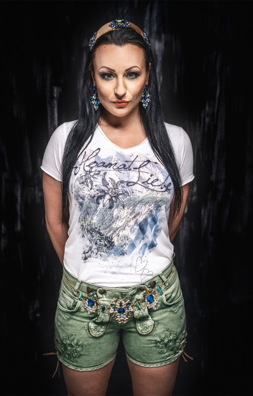 T-Shirt SIGRID bavaria offwhite