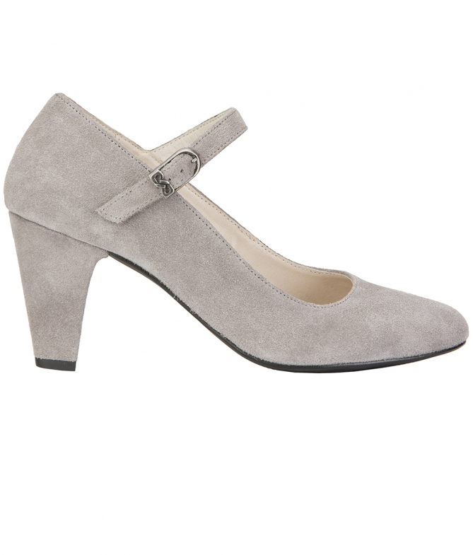 Traditional shoes 6055 gray
