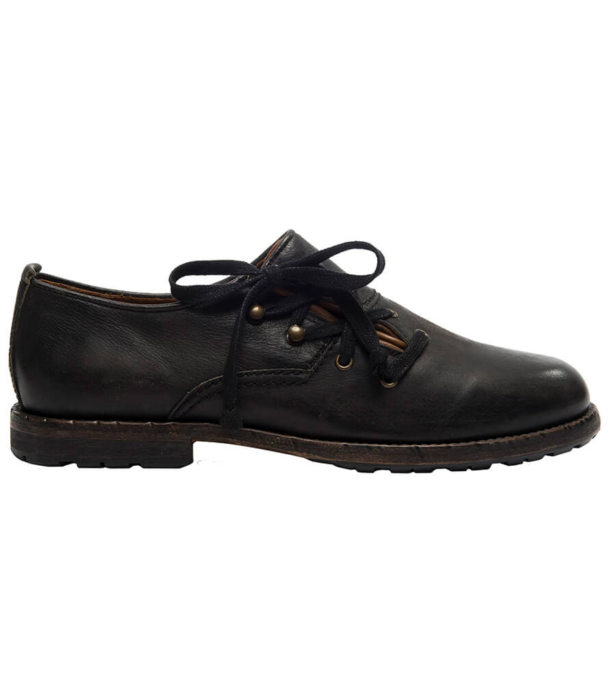 German traditional shoes 6060 negro von Stockerpoint