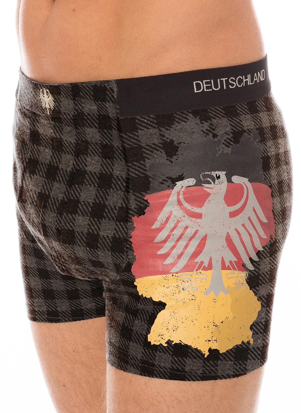 weitere Bilder von Boxershort 2er/Set Deutschland grau/kariert