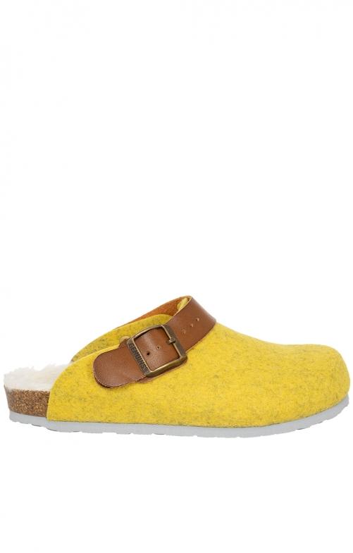 Pantoffel G102999 SHETLAND gelb