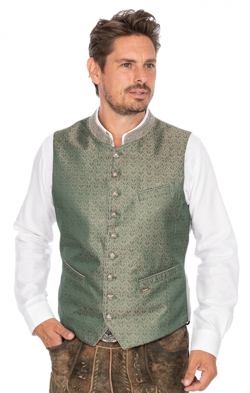 Tradition vest WALLACE green