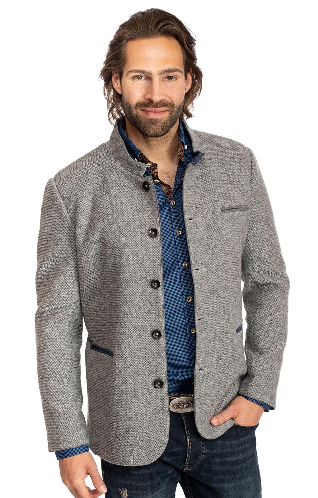 Jacke NARSBACH grau blau von Spieth & Wensky