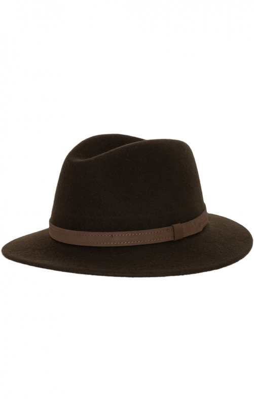 Bavarian oktoberfest hat 43200-1866 brown