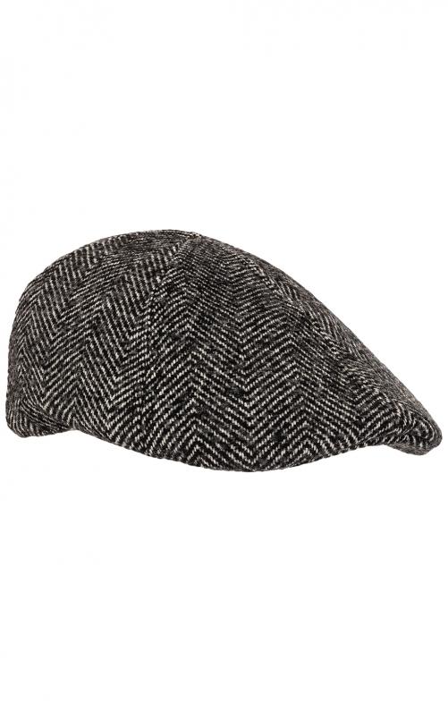 Flatcap 52288 grau