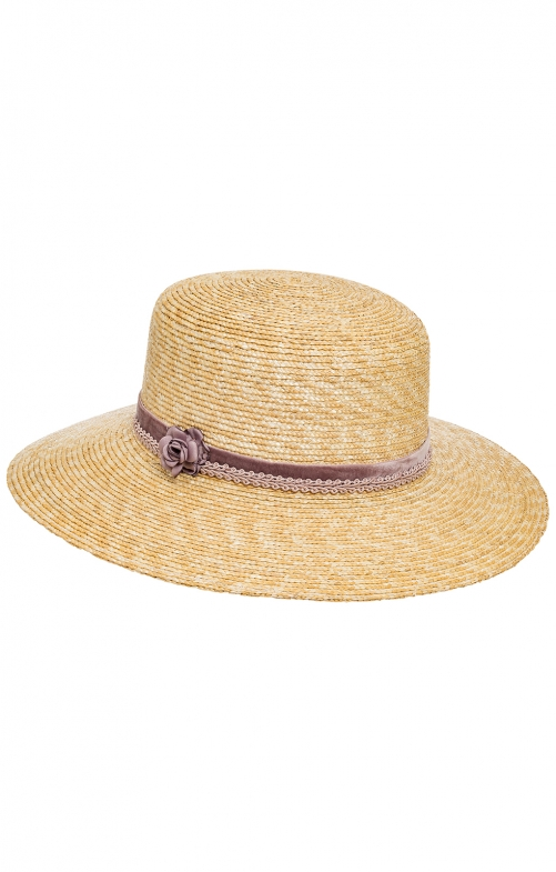 Trachten Hats 37505 nature dusky pink