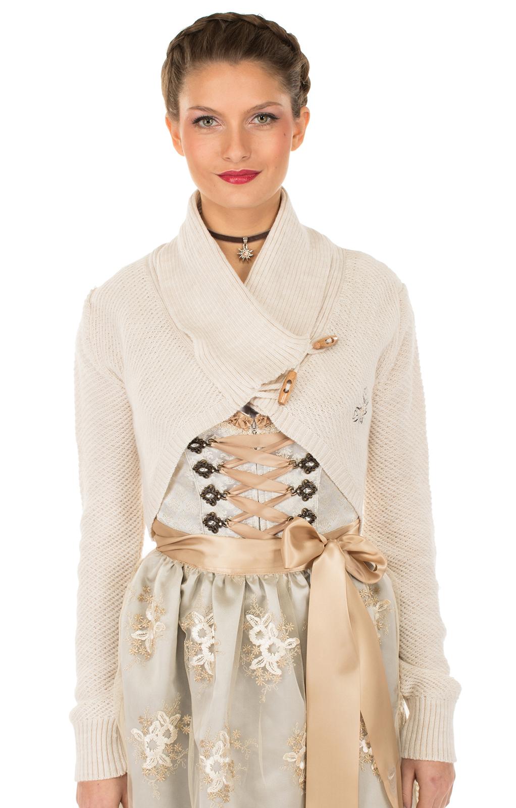 weitere Bilder von Trachten Jacket Bolero white