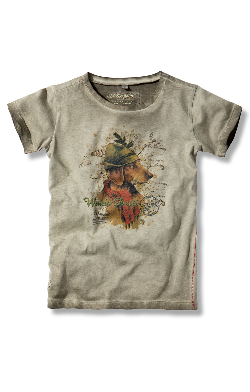 weitere Bilder von Children traditional shirt MONTY junior sand