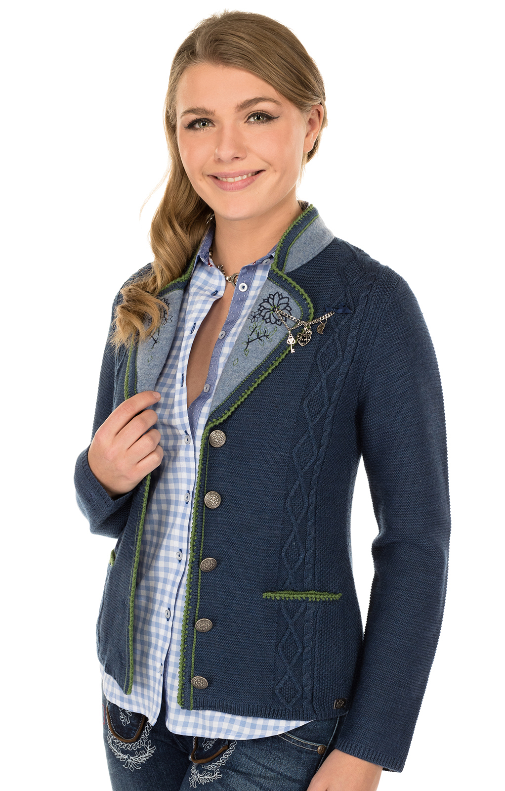 Trachten Jacket blue von Spieth & Wensky