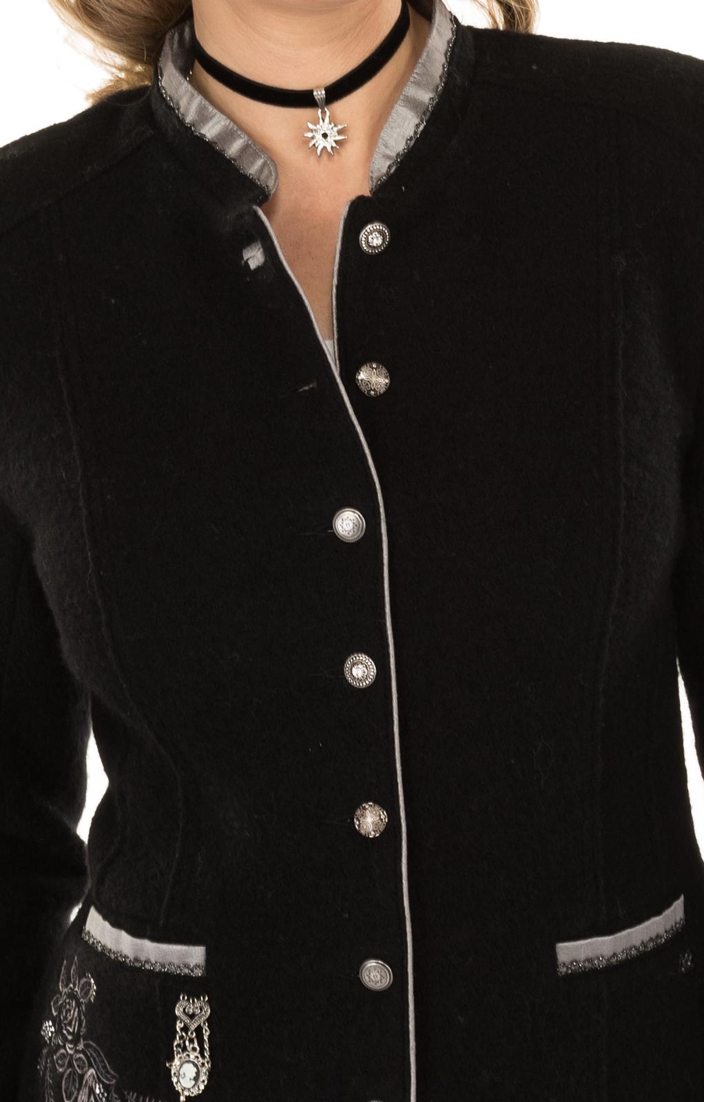 weitere Bilder von Trachten Jacket outside black gray