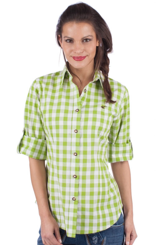 Traditional blouse ISIDORA apple