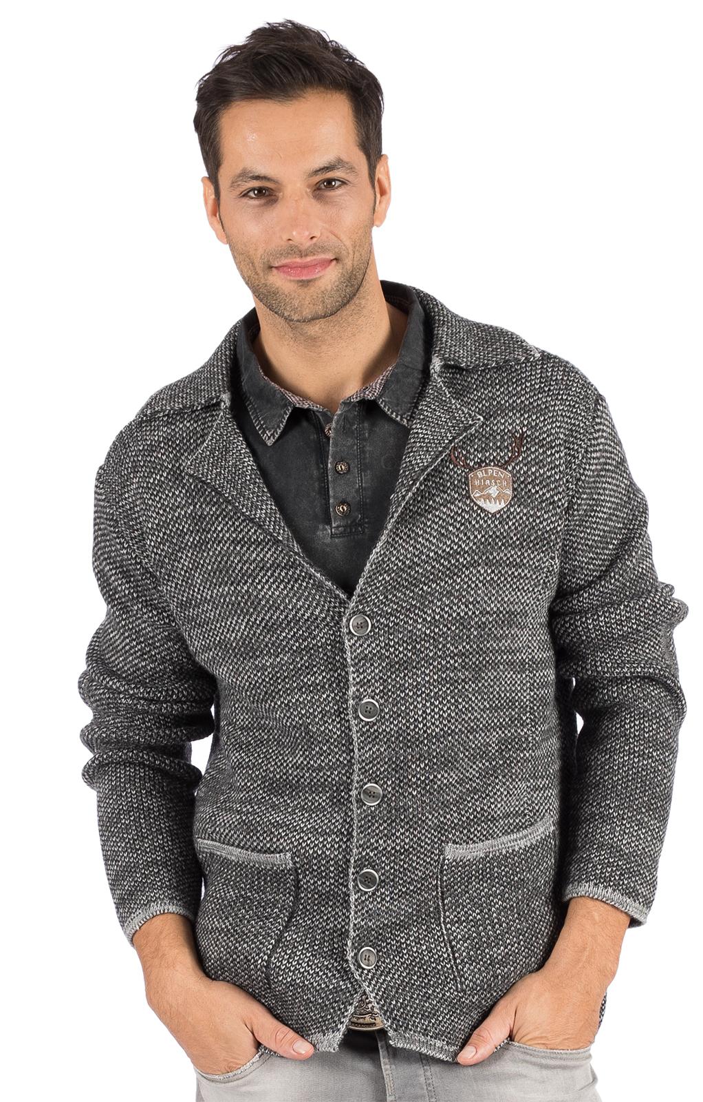 weitere Bilder von Tradizionale giacca a maglia OLAF grigio
