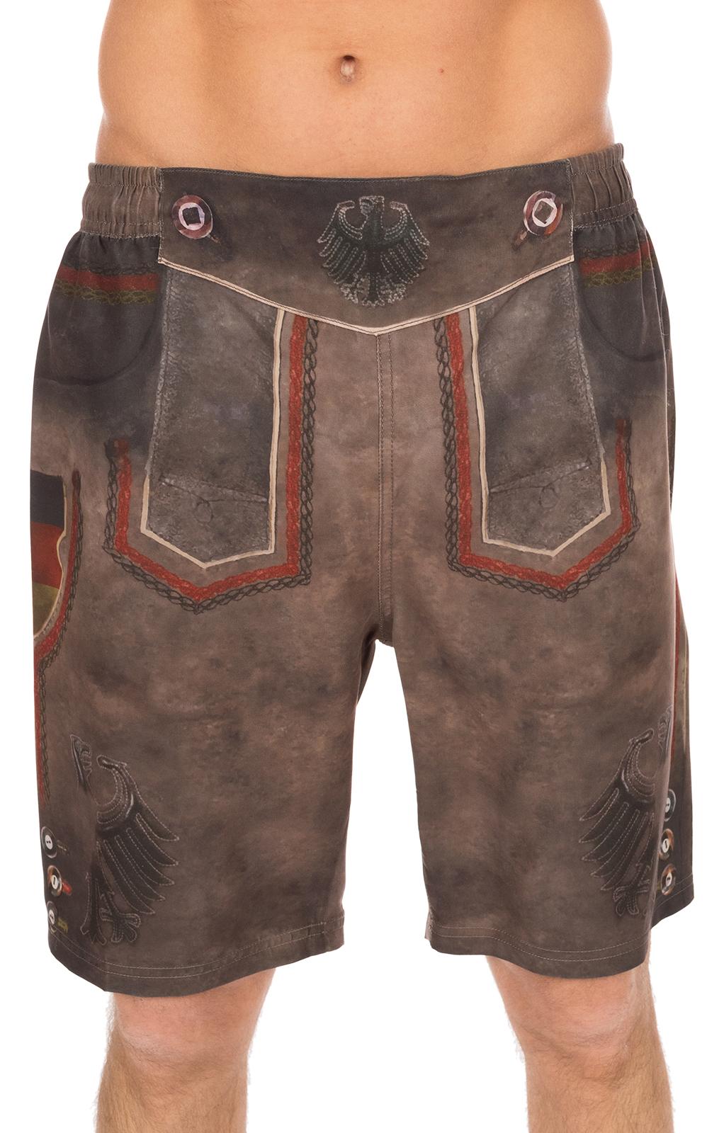Bathing shorts men 94668-7 brown von Krüger Dirndl