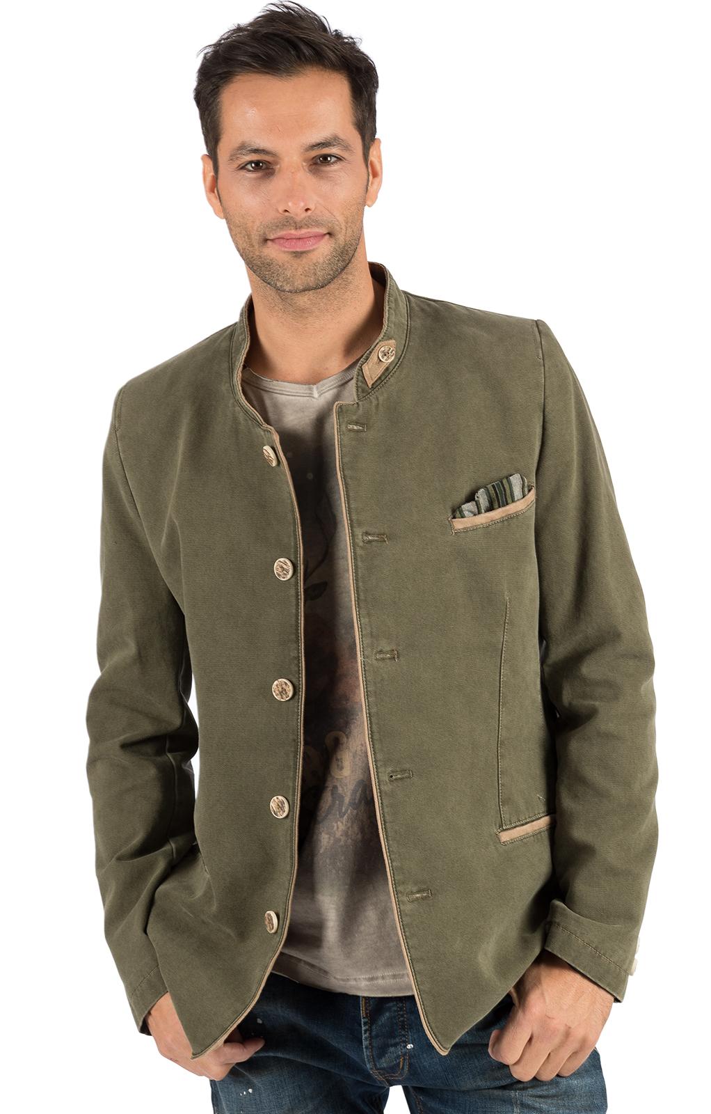 Tradizionale giacca KARSTEN oliv von OS-Trachten