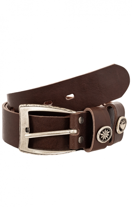 Trachten Belts 7840S154-11 dark brown