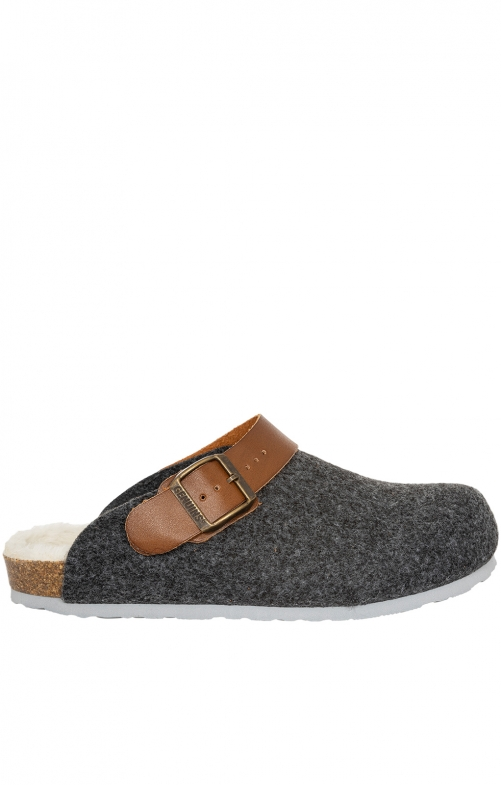 Traditional SlipperG102997 SHETLAND anthracite