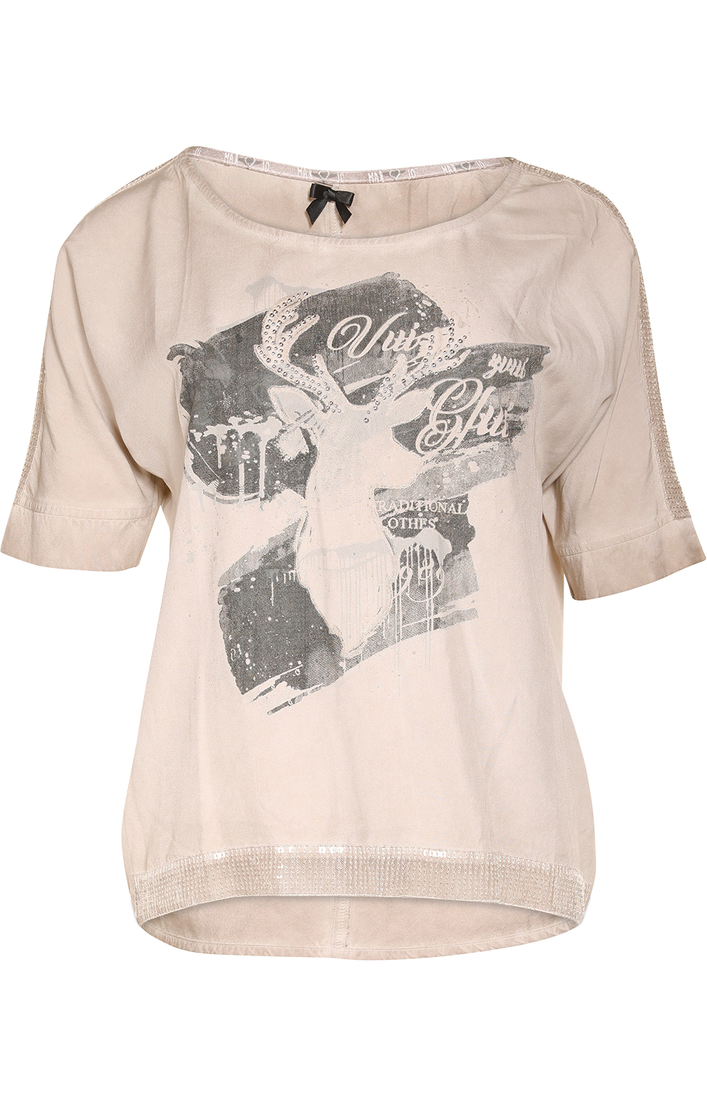 weitere Bilder von Trachten T-Shirt D37 - LUCI beige