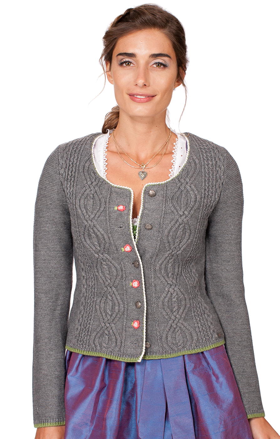 Traditional Cardigan Fancy middle gray von Spieth & Wensky