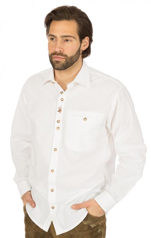 German traditional shirt white