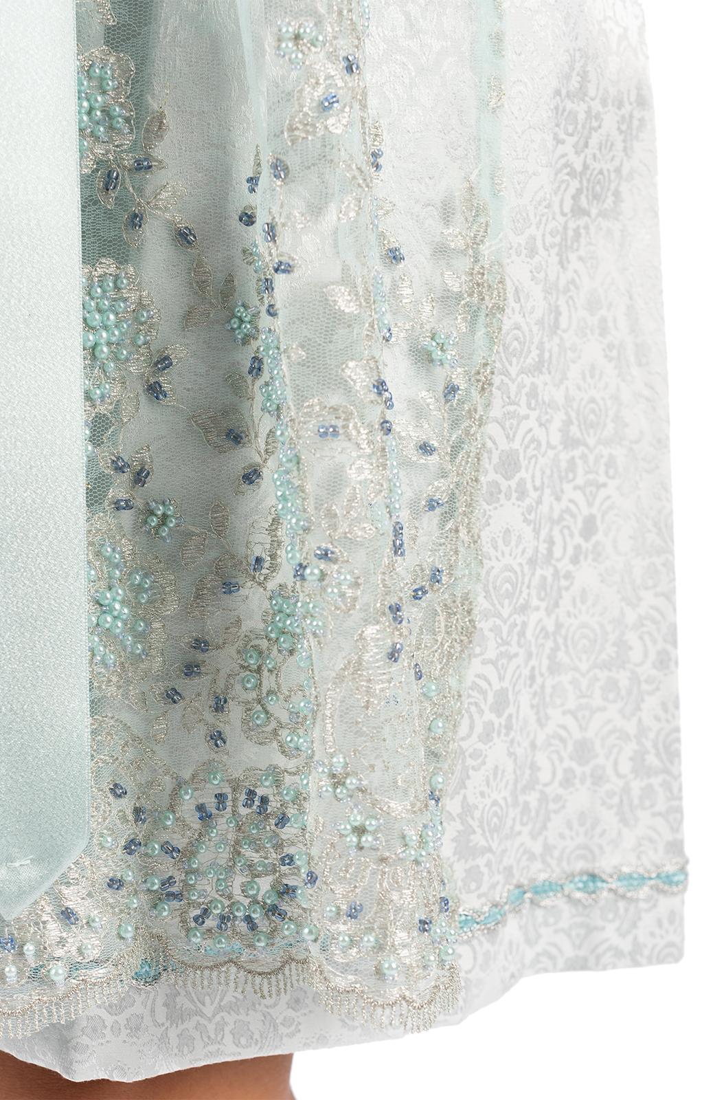 weitere Bilder von Midi Dirndl 2pz. 65 cm GULIA blu ghiaccio