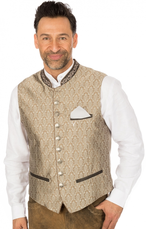Traditional waistcoat JANKO nature