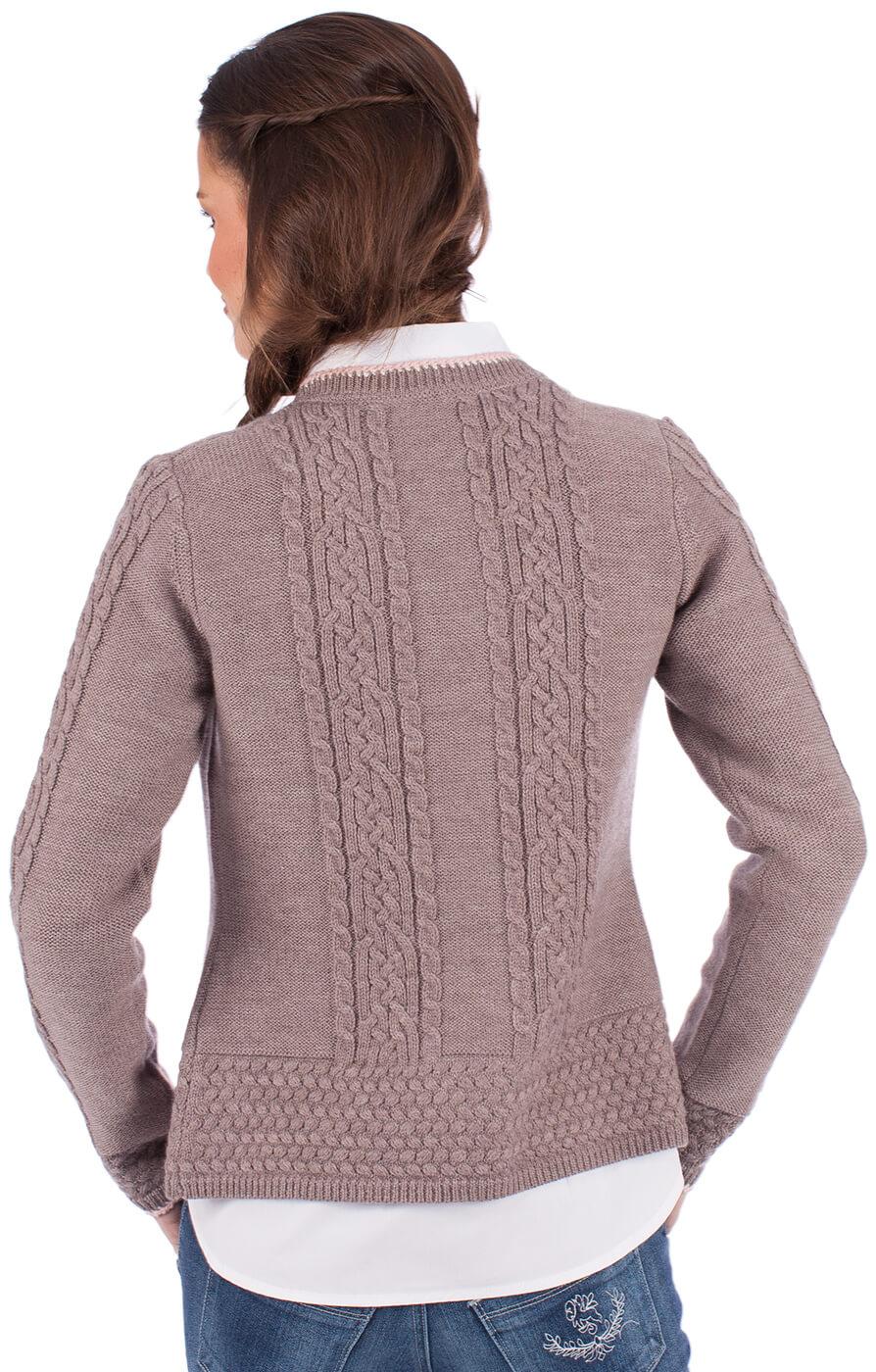 weitere Bilder von Giacca in maglia per Dirndl EFEU natura