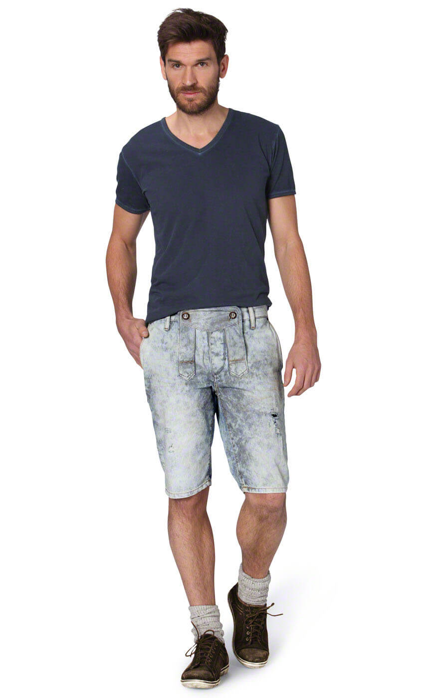 weitere Bilder von German Traditional shorts Cash bluevintage
