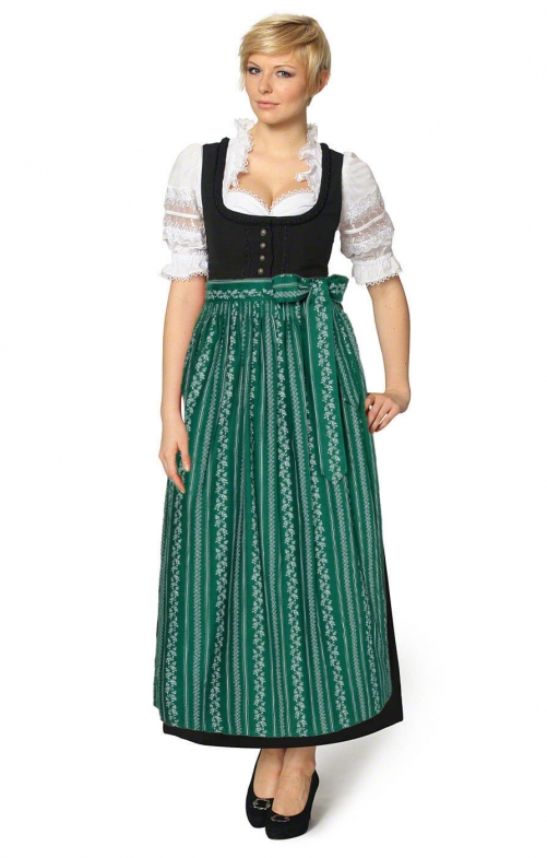 Dirndl long 96cm 1pc. ZENTA3 SC195 fir