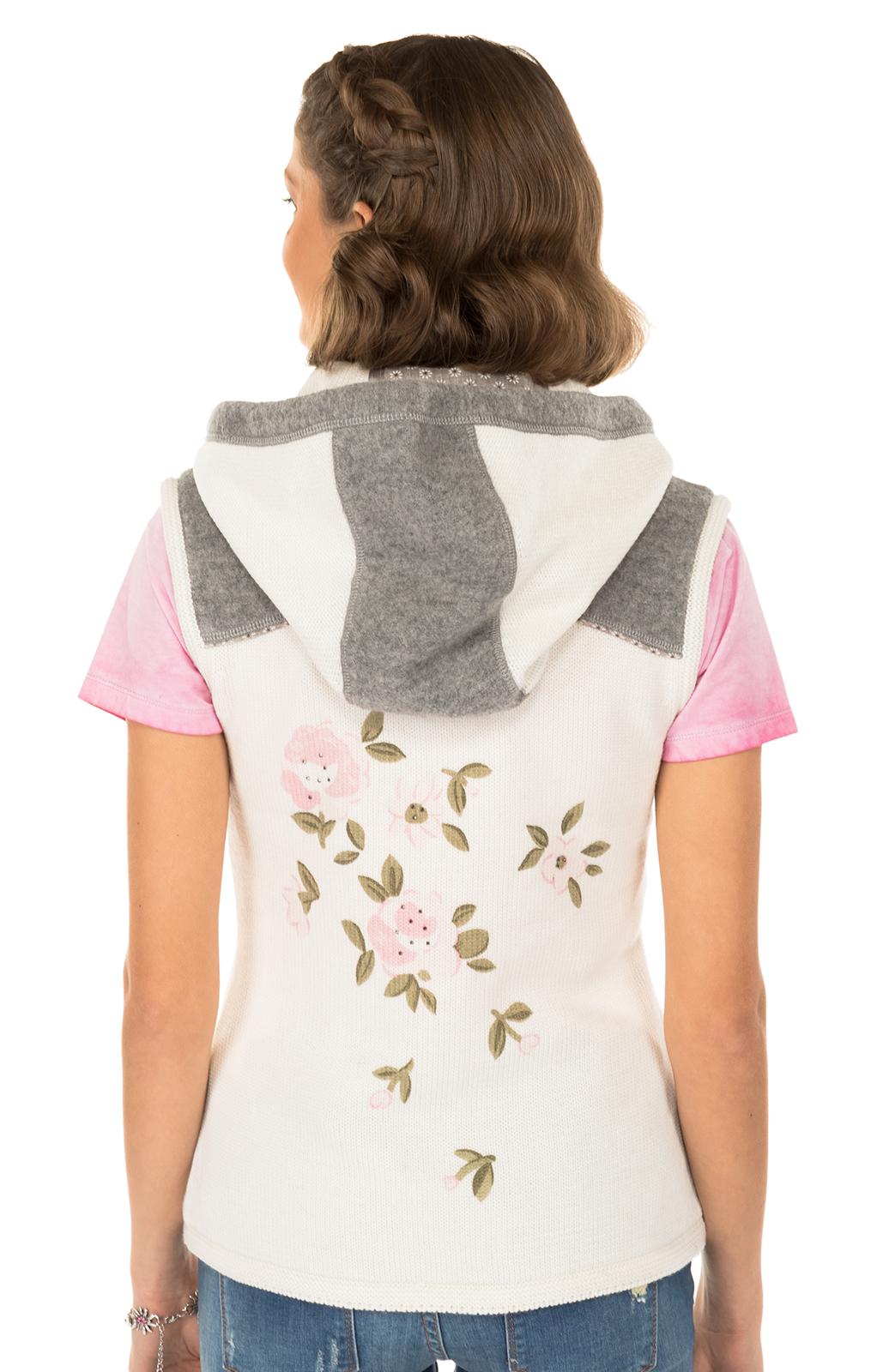 weitere Bilder von Trachten Vest gebreid wit