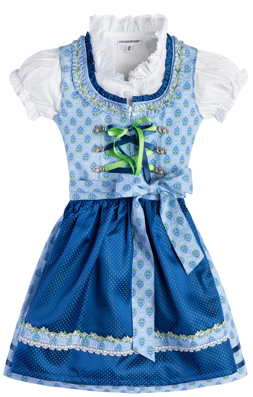 weitere Bilder von Traditional Children dirndl KAJA light blue
