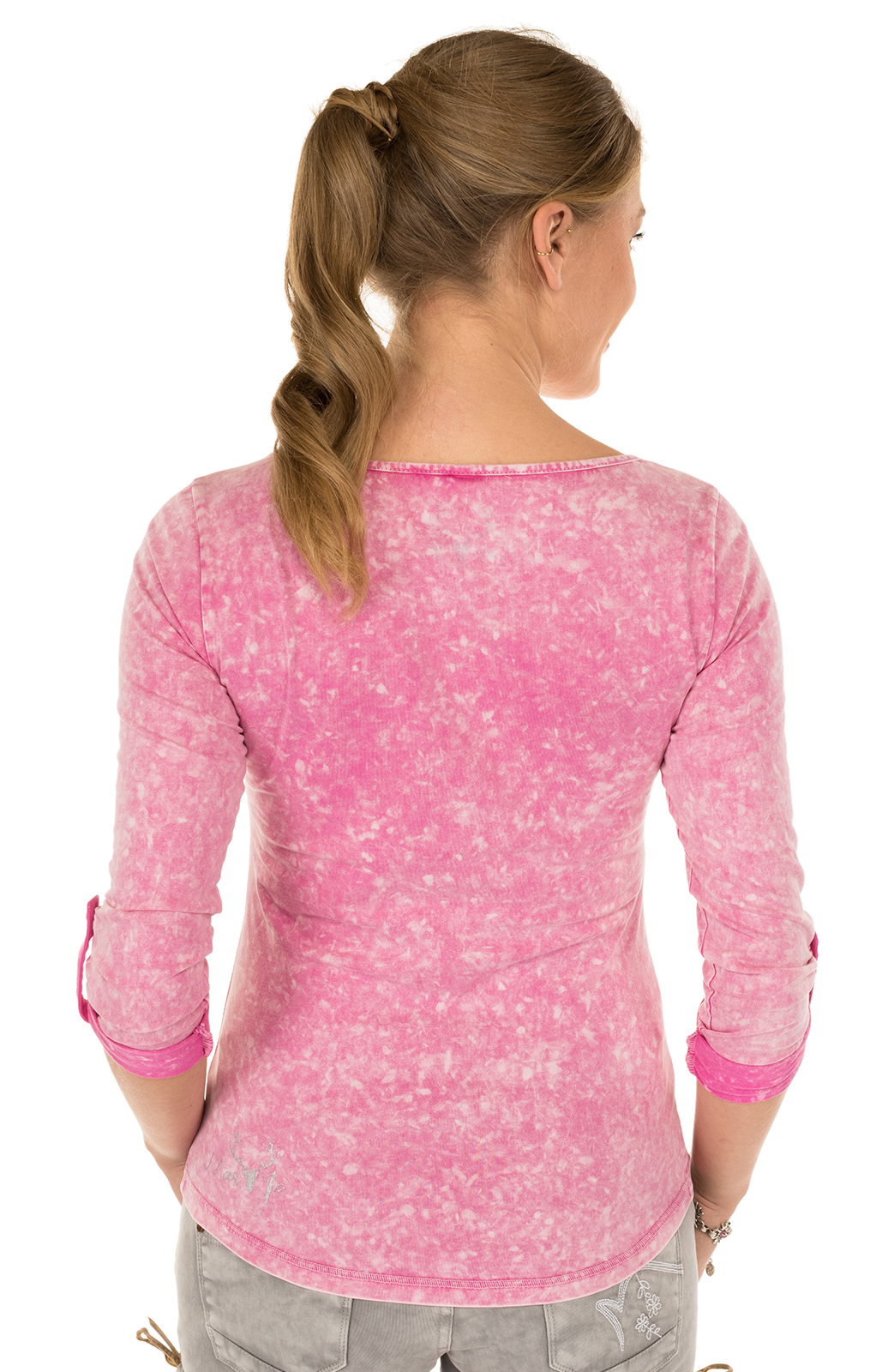 weitere Bilder von Trachten T-Shirt K30 FLIAGA pink
