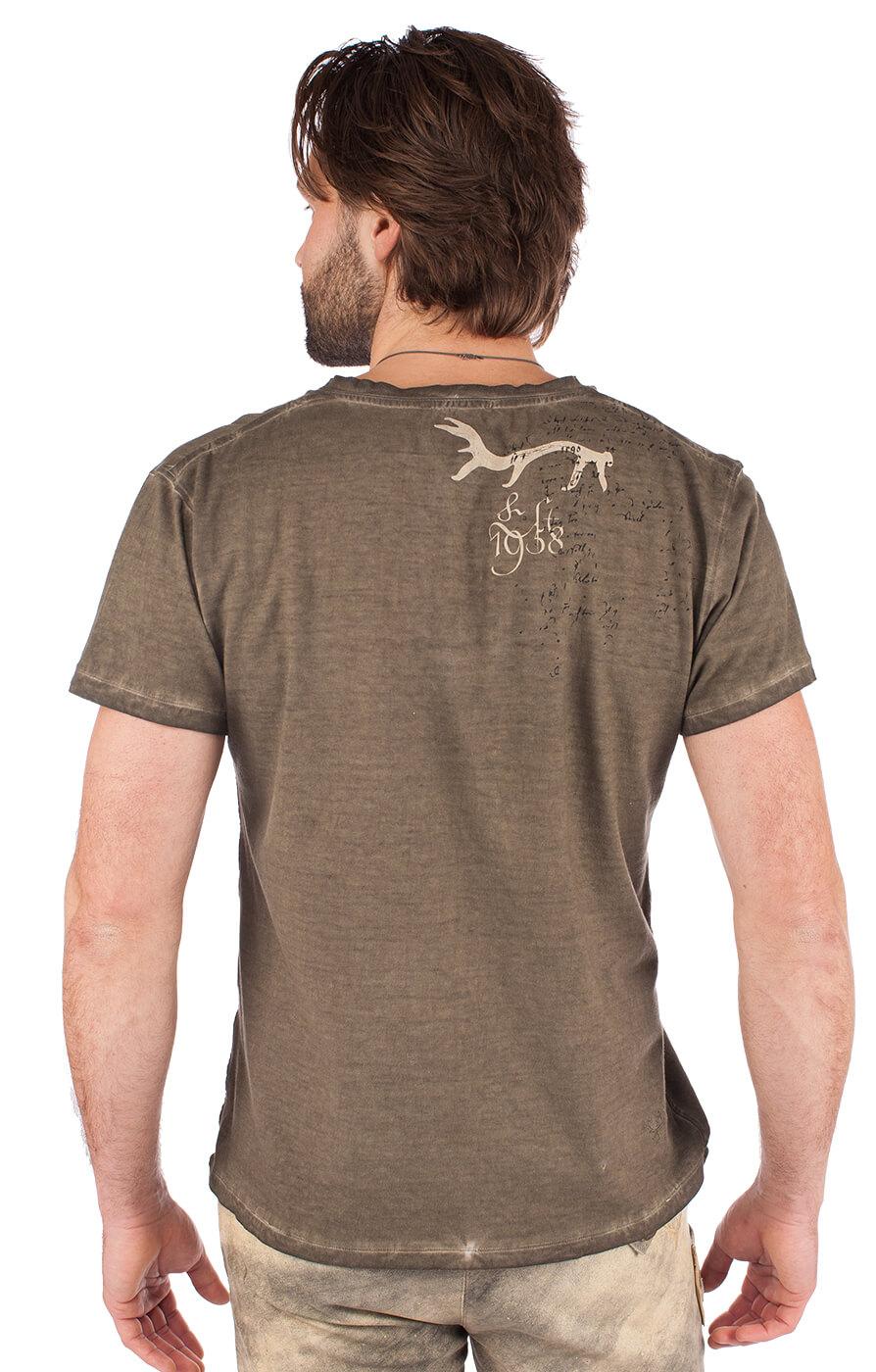 weitere Bilder von Trachten T-Shirt 93210-7 braun