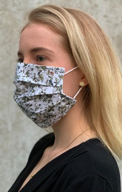 Maschera di tessuto 3933-54 cachi fango