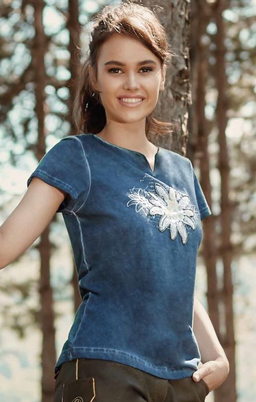 T-Shirt 321131 denim