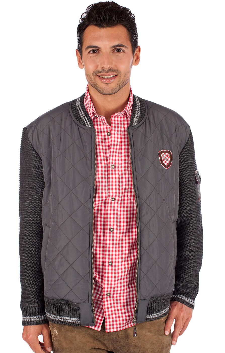 German traditional jacket EGINOanthrazit von Spieth & Wensky