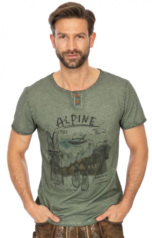 T-Shirt L101 - HUBERT darkoliv