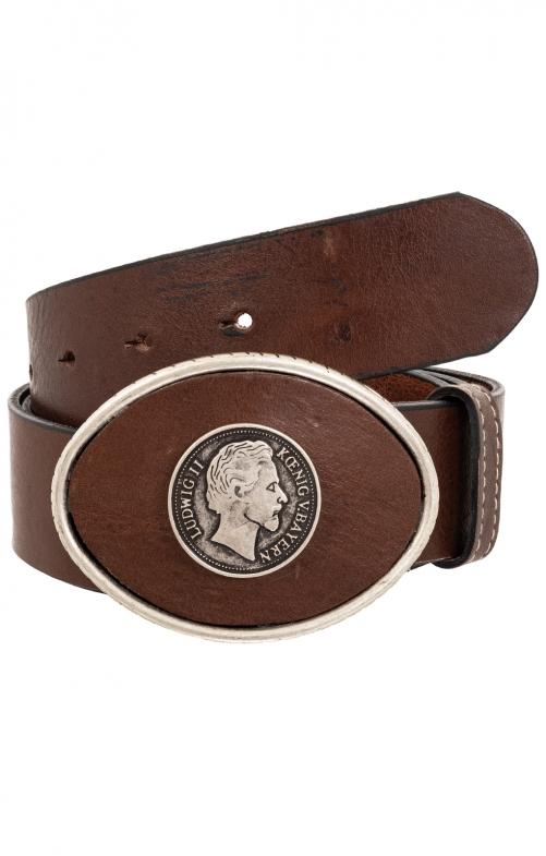 Trachten Belts 7840S121-11 darkbrown