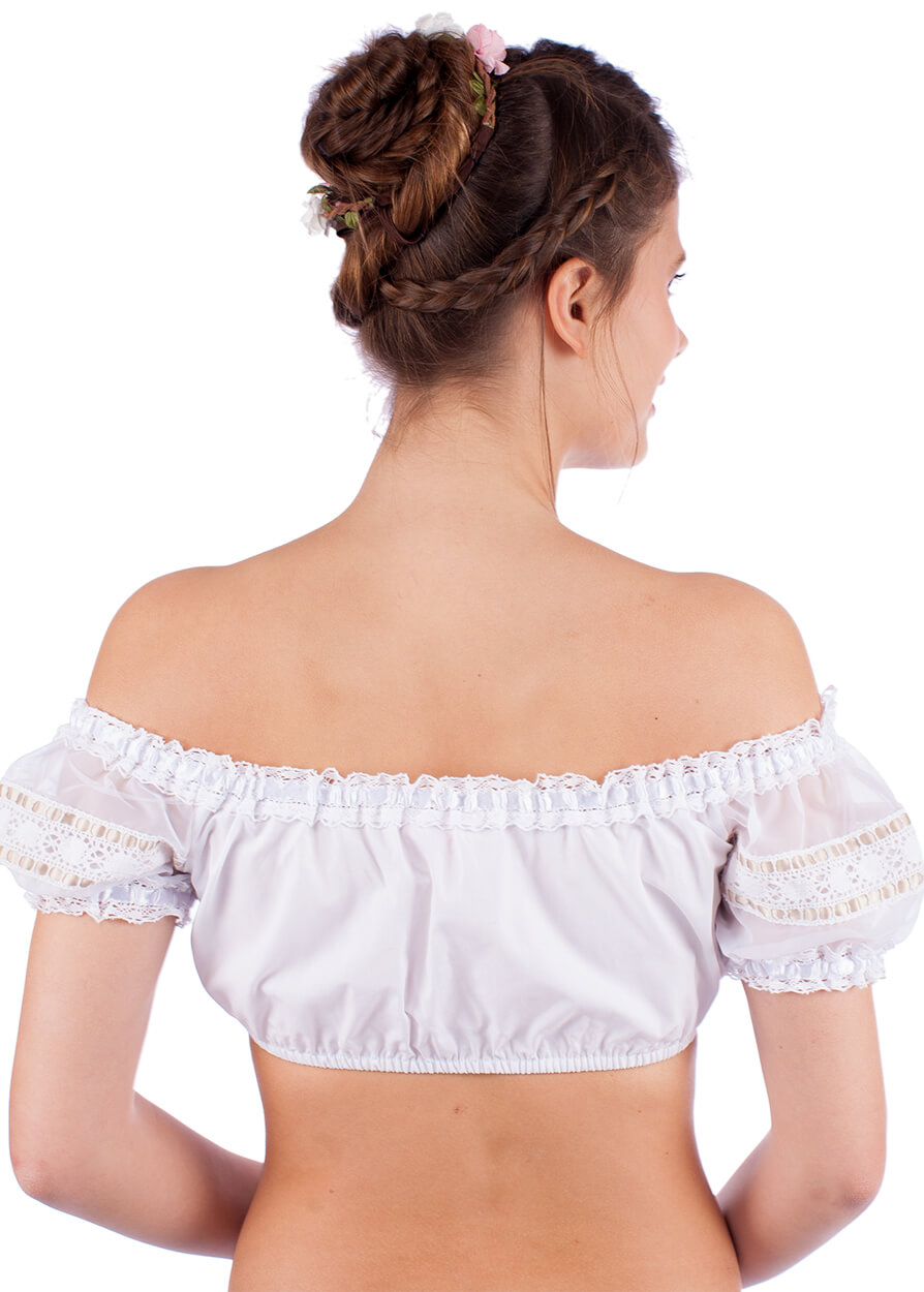 weitere Bilder von Traditional dirndl blouse 30000-115 white nature