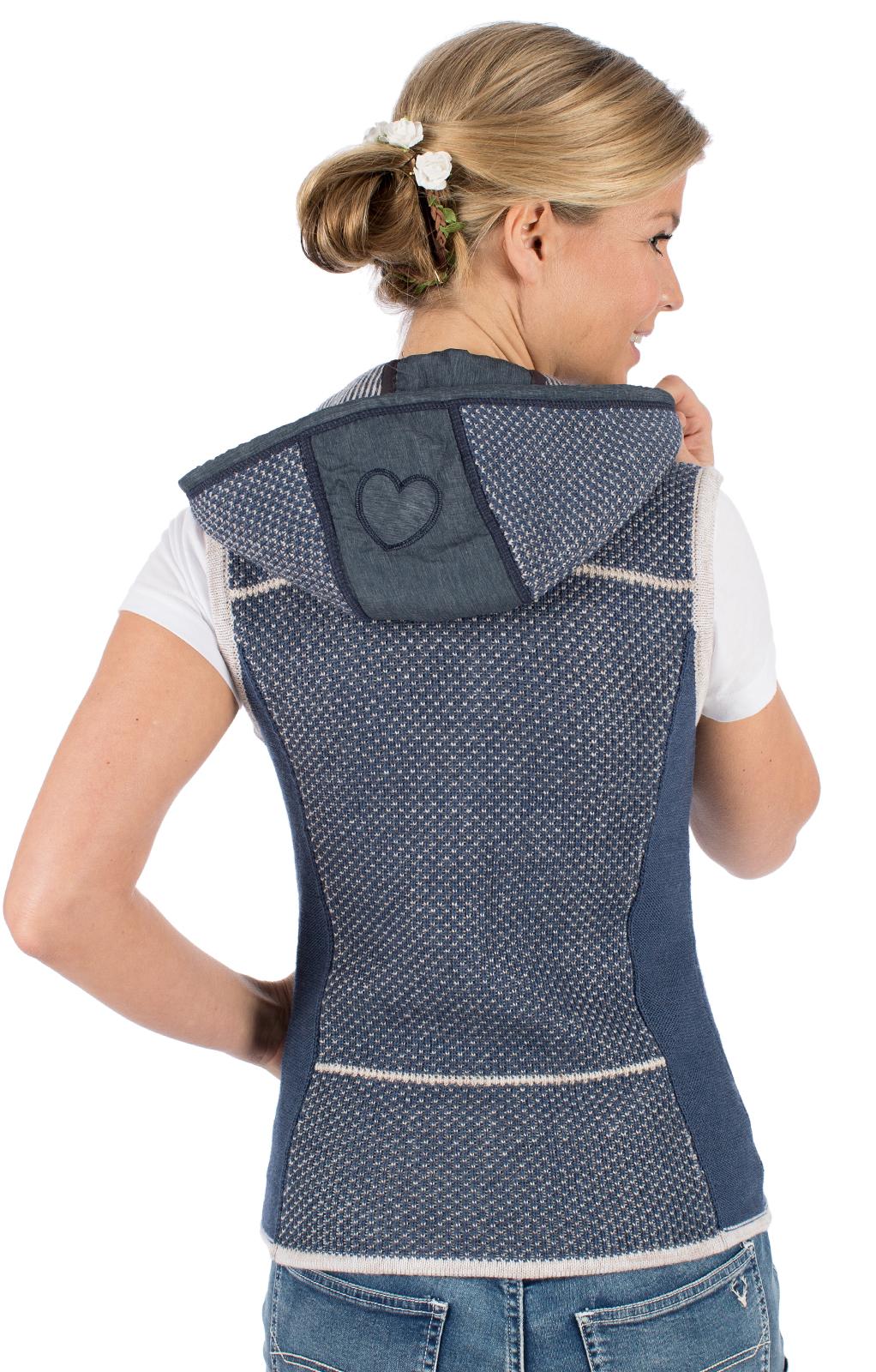 weitere Bilder von Knitted vest KULM SW blue