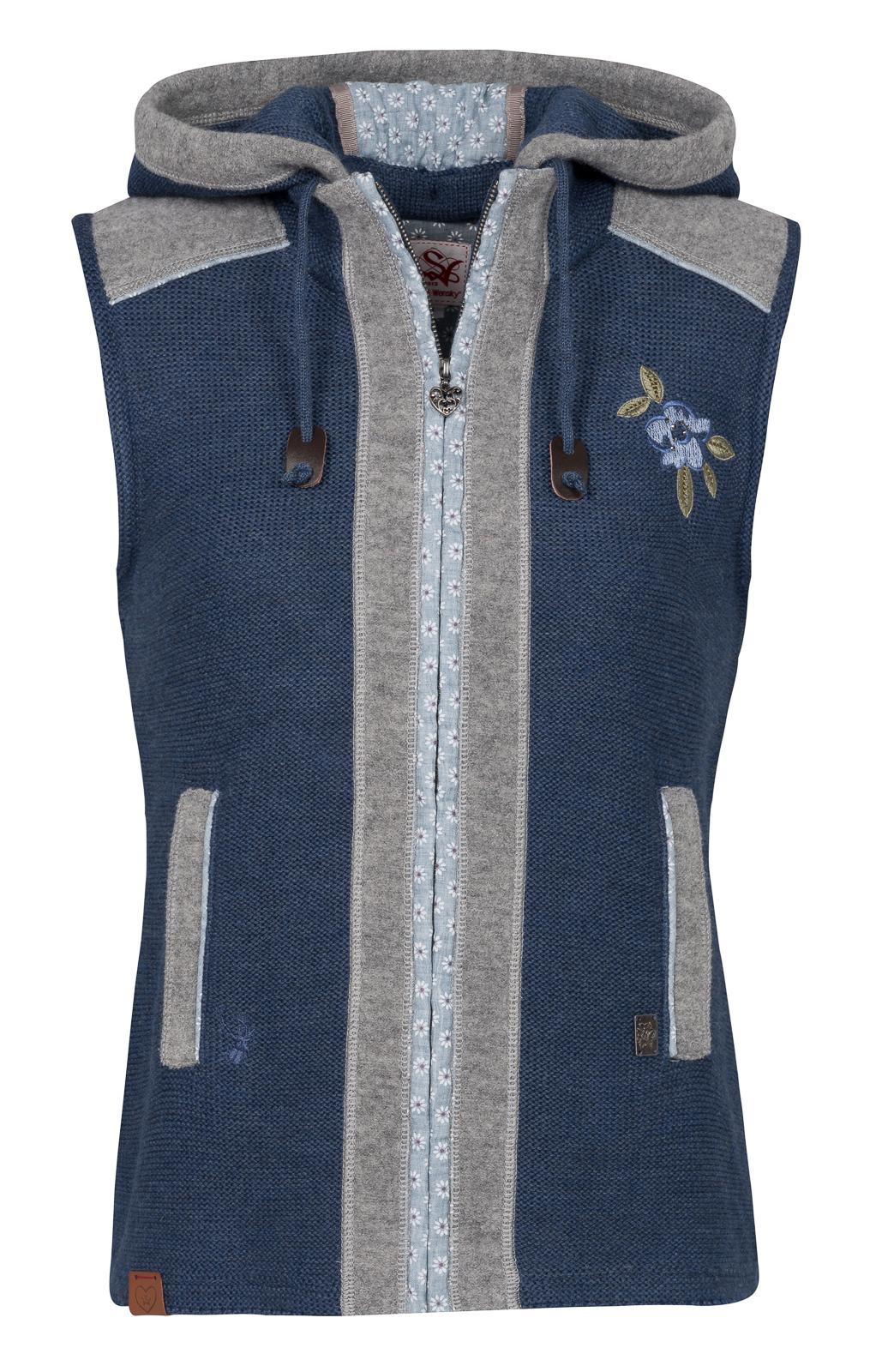 weitere Bilder von Knitted vest blue