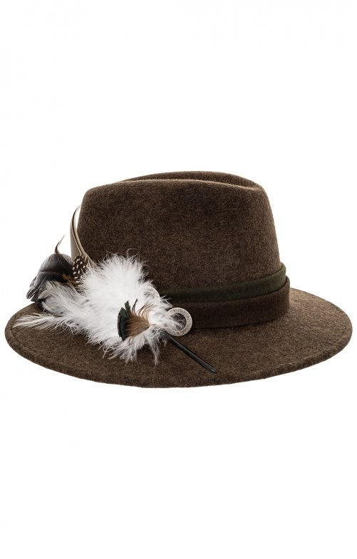 Trachten Hats 1013-D79BO brown mottled