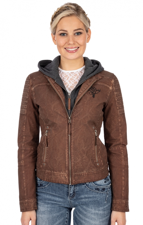 Outdoorjacke HAILEY cognac